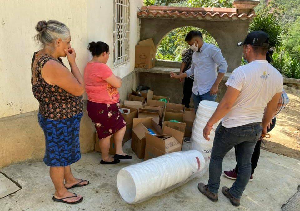 DONACIÓN DE ECO FILTROS EN COMUNIDAD EL TABACAL, RÍO HONDO, ZACAPA